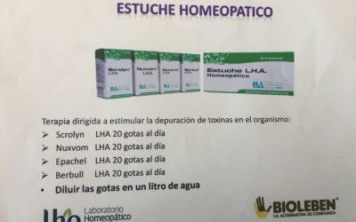 Estuche Homeopatico